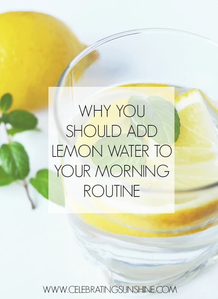Health Benefits Of Drinking Lemon Water Every Morning